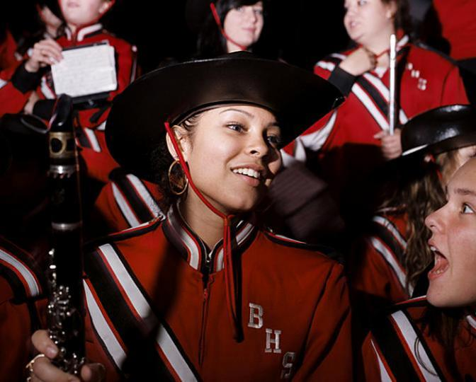 Brockton High School clarinetist Melissa Cruz