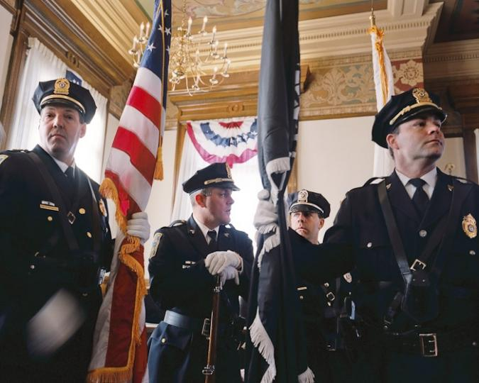 Brockton Police Color Guard